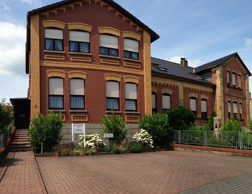 Haus von Zahnarztpraxis Märtens